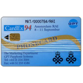 GPT CardEx 94 promotional card, 1000 units