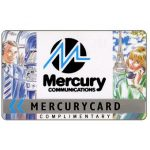 The Phonecard Shop: Mercury - MCL Complimentary, 50p