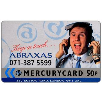The Phonecard Shop: Mercury - Abraxas (071 Phone No.), 50p