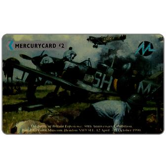 Phonecard for sale: Mercury - The Battle of Britain Experience, Brief Respite, £2