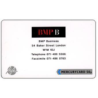 Phonecard for sale: Mercury - BMP Business, 50p