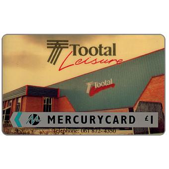 Phonecard for sale: Mercury - Tootal Leisure, £1