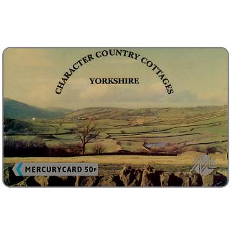 Phonecard for sale: Mercury - Country Cottages: Summer, 50p