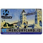 Phonecard for sale: Mercury - London Tower Bridge undated, £2