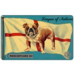 Phonecard for sale: Mercury - League of Nations: British Bulldog, 50p
