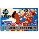 The Phonecard Shop: Mercury - A more colorful way to call, blue, £2
