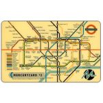 Phonecard for sale: Mercury - Underground map issue 2, £2