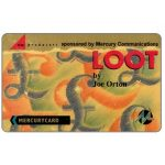 Phonecard for sale: Mercury - Loot by Joe Orton, 50p