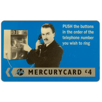 "Phonecard for sale: Mercury - Harry Enfield: ""Push"", £4"