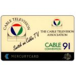 The Phonecard Shop: Great Britain, Mercury - Cable TV Convention '91, 50p