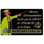 Phonecard for sale: Mercury - MCL: U.M.I.S.T., 50p