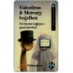Phonecard for sale: Mercury - Videotron & Mercury together, 50p
