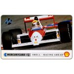 The Phonecard Shop: Great Britain, Paytelco - Shell Petrol, Formula 1 car, £2