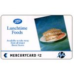 The Phonecard Shop: Great Britain, Paytelco - Boots, Lunchtime Foods, £2