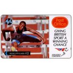 The Phonecard Shop: Great Britain, Paytelco - Post Office Athletics, Colin Jackson, £2