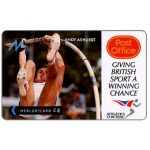 The Phonecard Shop: Great Britain, Paytelco - Post Office Athletics, Andy Ashurst, £4
