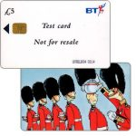 The Phonecard Shop: Great Britain, Alpha trial, test card £5