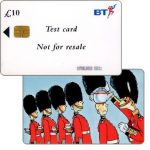 The Phonecard Shop: Alpha trial, test card £10