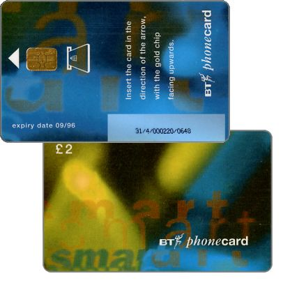 Phonecard for sale: Beta trial, £2