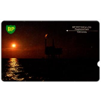 Phonecard for sale: BP, small logo, deep notch, 100 units