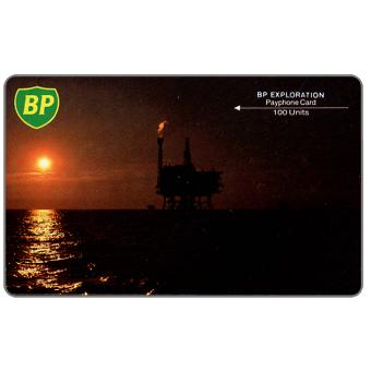 Phonecard for sale: BP, big logo, code 3BPEA, 100 units