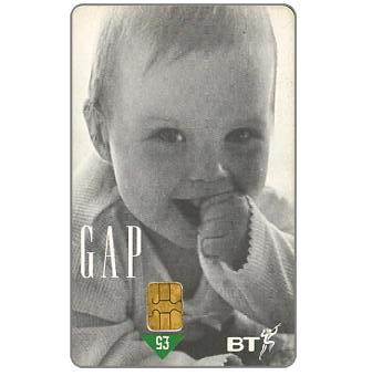 Phonecard for sale: GAP Stores, £5