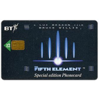The Phonecard Shop: Great Britain, The Fifth Element No.2, £5