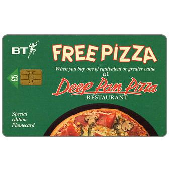 Phonecard for sale: Free Pizza, £5