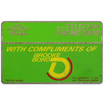 Phonecard for sale: Brooke Bond, 10 units