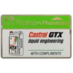 The Phonecard Shop: Great Britain, Castrol GTX, 10 units