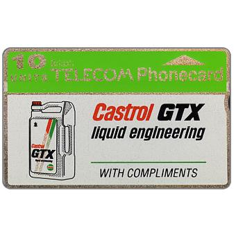 Phonecard for sale: Castrol GTX, 10 units
