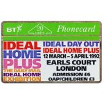 The Phonecard Shop: Great Britain, Ideal Home Plus, 20 units
