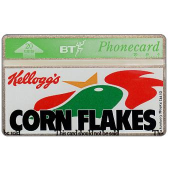 Phonecard for sale: Kellogg's Corn Flakes, 20 units