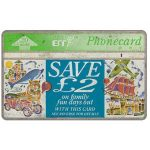 Phonecard for sale: Family Fun Days, discount card, 20 units