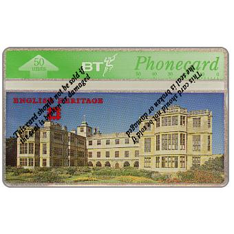 Phonecard for sale: English Heritage, Audley End House, 50 units