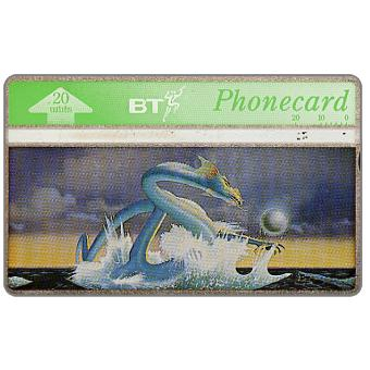 Phonecard for sale: Classic Floyd, Asia Dragon, 20 units