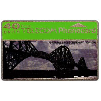 Phonecard for sale: Forth Rail Bridge, 40 units
