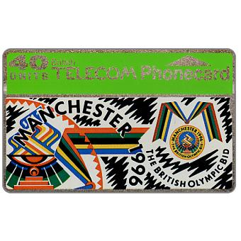 Phonecard for sale: Manchester Olympic Bid, 40 units