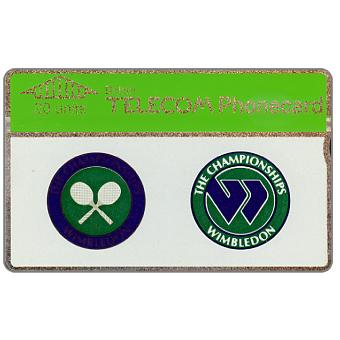 Phonecard for sale: Wimbledon Tennis Championship, 20 units