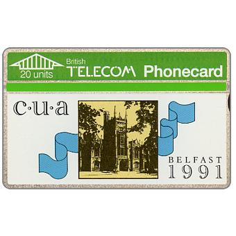 Phonecard for sale: Belfast University, 20 units