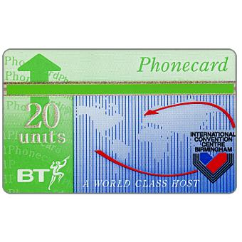 Phonecard for sale: Birmingham Conference Centre, 20 units