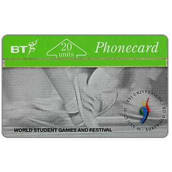 Phonecard for sale: Sheffield Student Games, 20 units