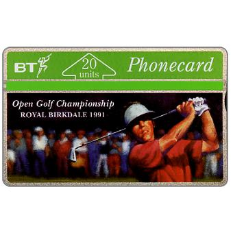 Phonecard for sale: Birkdale Golf Open 1991, 20 units