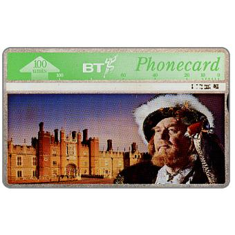 Phonecard for sale: Tourism, King Henry VIII, 100 units