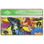 The Phonecard Shop: Great Britain, Youth series, Athletics, 20 units
