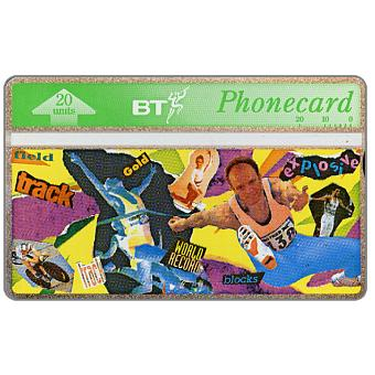 Phonecard for sale: Youth series, Athletics, 20 units
