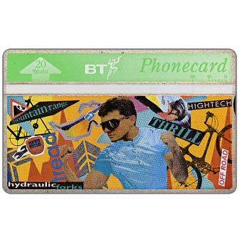Phonecard for sale: Youth series, Cycling, 20 units