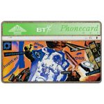 The Phonecard Shop: Great Britain, Youth series, Space, 20 units