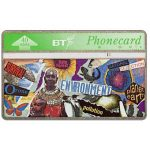 The Phonecard Shop: Great Britain, Youth series, Environment, 40 units