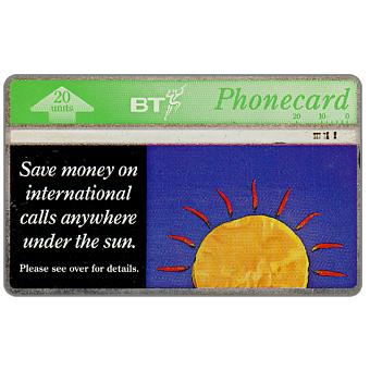 Phonecard for sale: International calls, 20 units